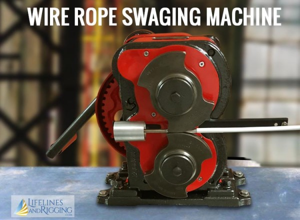 Wire Rope Swaging Machine for Replacement Sailboat Lifelines